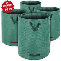 4x Sac de jardin 280L 50kg - Feuilles déchets jardin branches - Solide