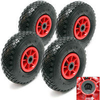 4x Spare Tyres 3.00-4 for Sack Trolley- Truck Barrow / Sack Truck HT2046