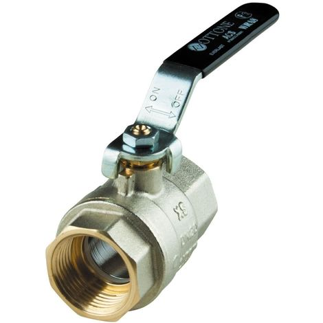 """5/4"""" Inch FxF Water Lever Type Ball Valve Quarter Turn for Many Installations"""