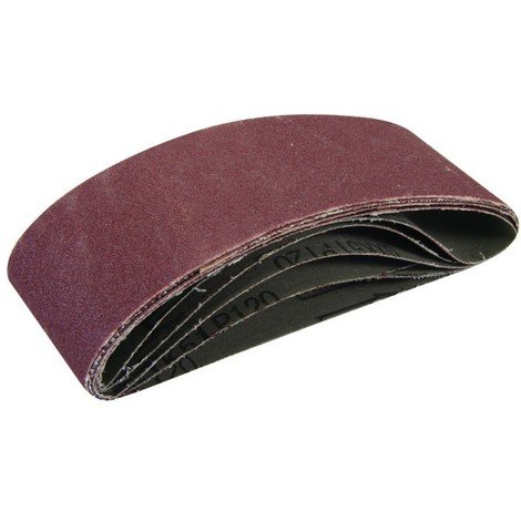 5/ cm de large, 68,6/ cm Longueur Lot de 5/ bandes abrasives Grain P80/ pour ponceuse /à bande 50/ mm x 686/ mm Support