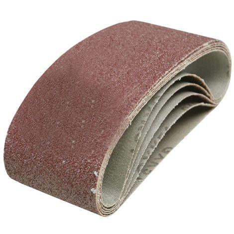 /en tissu pour ponceuse /à bande//Papier abrasif//bandes abrasives 10/pi/èces de bandes abrasives 75/x 533 grain 40/