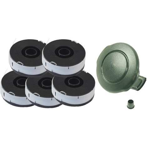 5 bobines + capot pour Florabest FRT 430 LIDL IAN 41955