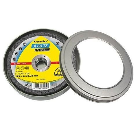 5 boites de 10 disques à tronçonner MP SPECIAL A 60 TZ D. 115 x 1 x 22,23 mm - Métal / Inox - 310503 - Klingspor - -