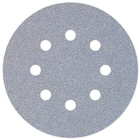 5 discos adhesivos de lijar para lijadoras excéntricas Ø 125 mm Grano 80