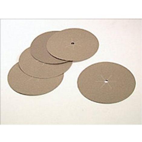 5 Discos de lija 125mm. Para madera, pintura, barniz, metal, yeso y plástico. Grano 60.- Black and Decker - Ref: X32001-XJ - Referencia del fabricante: X32001-XJ
