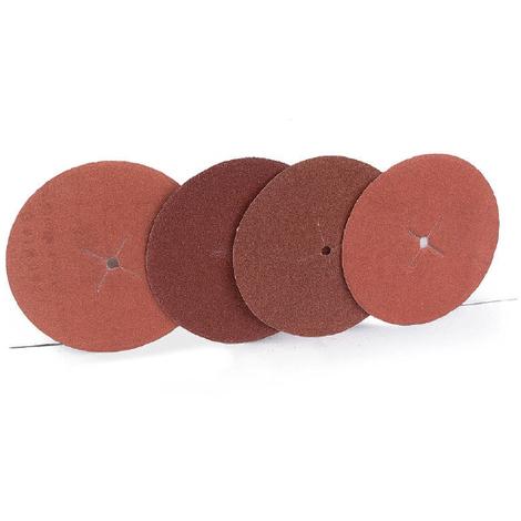 5 Discos de lija, fabricado en IBC y con 125 mm de diámetro. Ref 1100