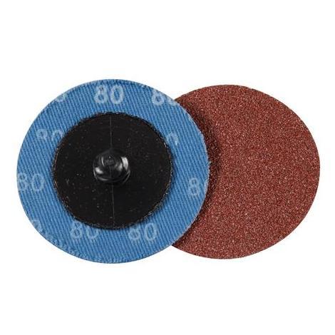 5 discos de lijado de montaje rápido 50 mm