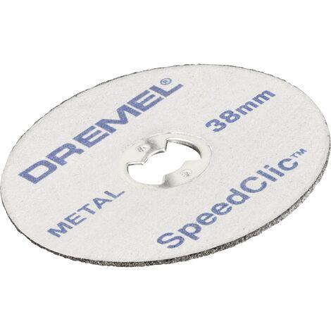 5 disques à tronçonner le plastique Speedclic Dremel SC476