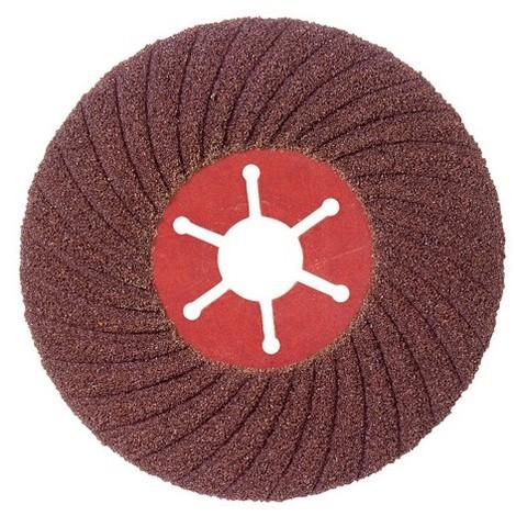 5 disques semi-rigide corindon - D.125 Gr 36 A Sidaflex - Acier - 10801003 - Sidamo - -