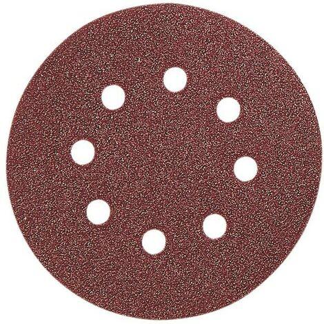 5 disques velcro abrasifs, rapport de 115 mm
