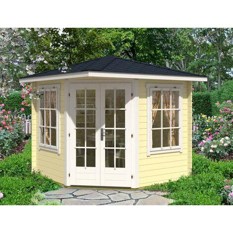 5-Eck Gartenhaus Modell Sunny-C