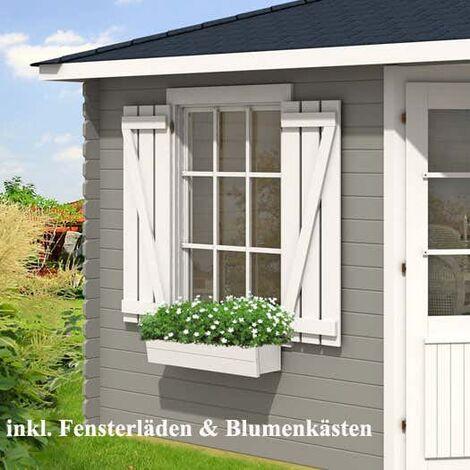 5-Eck Gartenhaus Monica Royal