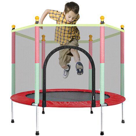 """main image of """"5 FT Kids Trampoline Safety Net Enclosure Children Outdoor Garden Fun Toy"""""""