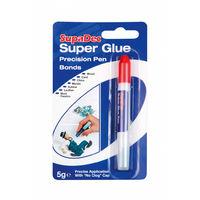 5 GRAM SUPADEC SUPER GLUE PEN PRECISE APPLICATION WITH NO CLOG CAP