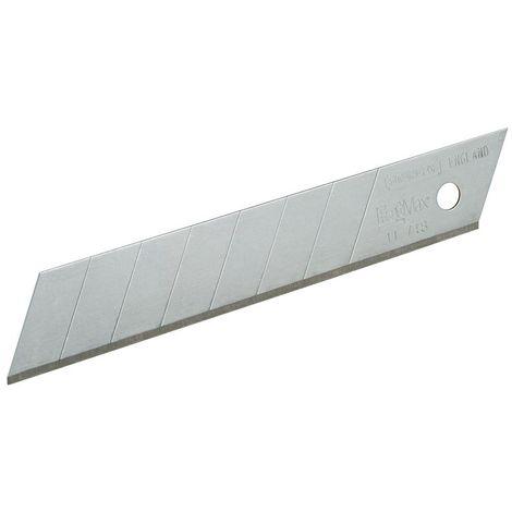 5 Hojas de cutter gama FatMax 18 mm o 25 mm - STANLEY