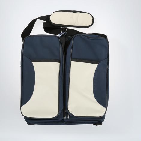 5-in-1 Mumienbeutel Pflegetasche Babytasche Handtasche Kinderbett Klappbett Dunkelblau