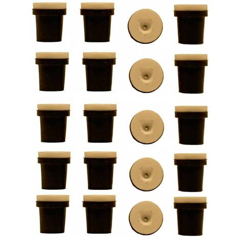 5 jeux de 4 Buses ceramique noires pour Pistolet Sableuse 38-76L : 3,5mm