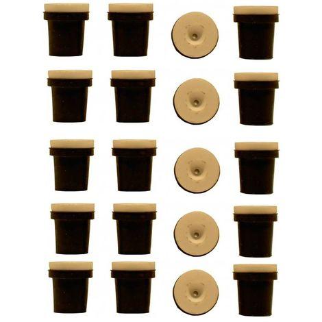 5 jeux de 4 Buses céramique noires pour Pistolet Sableuse 38-76L : 3mm