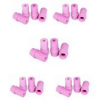 5 jeux de 4 Buses céramique roses pour Pistolet Microbilleuse