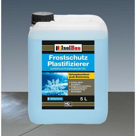 5 Liter Frostschutz Plastifizierer Beton-Zusatzmittel - Betonverflüssiger