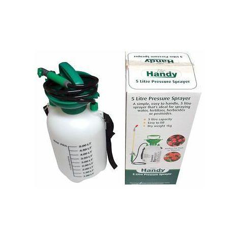 5 Litre Heavy Duty Pressure Sprayer Spray Water Spraying Pump Nozzle Mist
