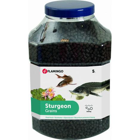 5 litres, esturgeons, nourriture poison d'étang pour esturgeons.M - 5L