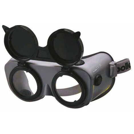 5 lunette soudure coversal - monture pvc aeree relevable tresse reglabl