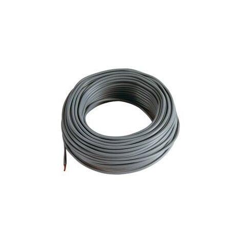 """main image of """"5 m Cable noir 6 mm2 pour cablage des systèmes énergétiques"""""""