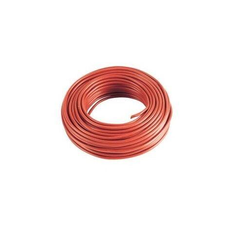 """main image of """"5 m Cable rouge 4mm2 pour cablage des systèmes énergétiques"""""""