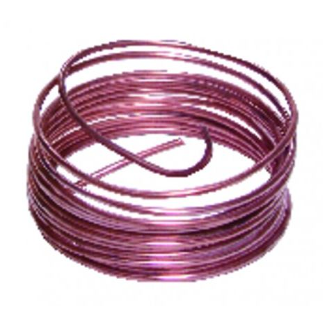 5-metre spool of copper tubing (4mm x 6mm)