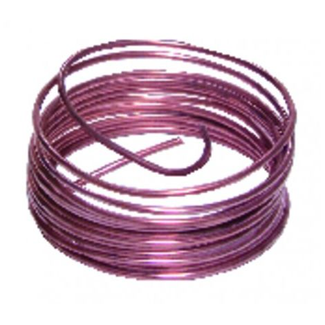 5-metre spool of copper tubing (6mm x 8mm)