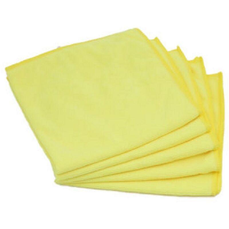 5 Microfibres jaunes special Interieur 280gm2