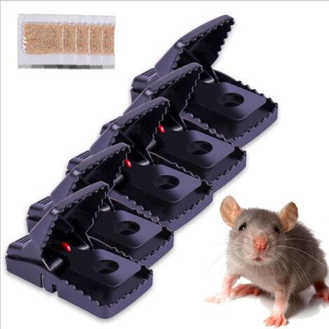 """main image of """"5 pièces Piège à Rats Pédales Attrape Souris - pièges a rongeurs - Tapettes Mortel sans cruauté - Pack DE 5 - Puissant Efficace - réutilisable"""""""