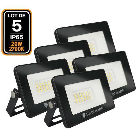 "main image of ""5 proyectores led 20 W Ipad Blanco neutro 4500 K Alta luminosidad"""