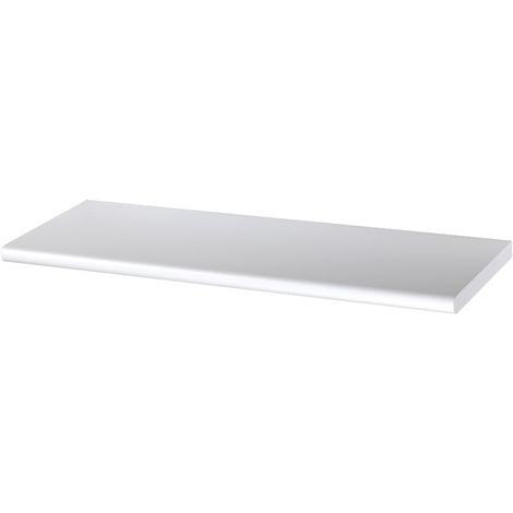 mensola bianca laccata 100x20x1 8