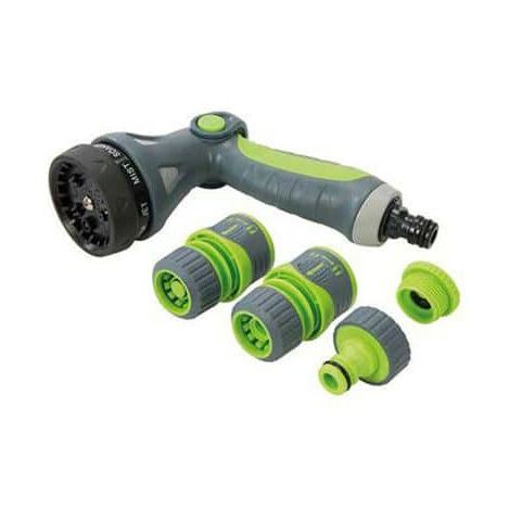 5 required sprinkler gun parts Silverline 829557