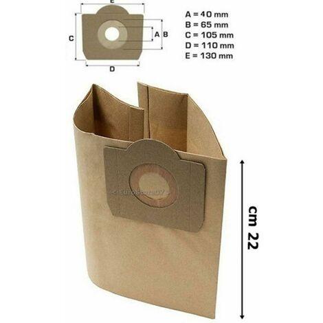 Sacchetto per la Polvere Sacchetti Di Filtro 5 Sacchetto per aspirapolvere per Rowenta tipo ZR 817