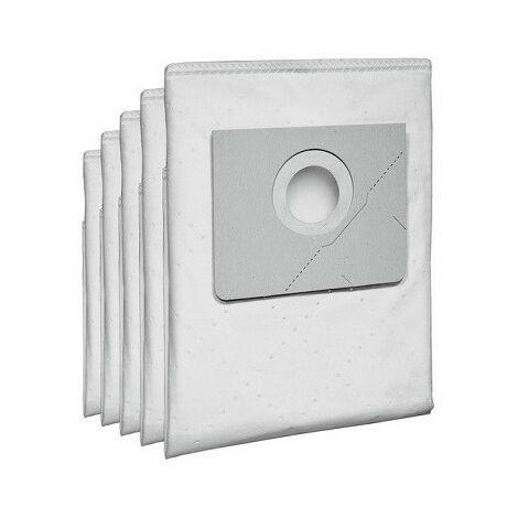 5 sacs filtrants pour aspirateur NT20 KÄRCHER