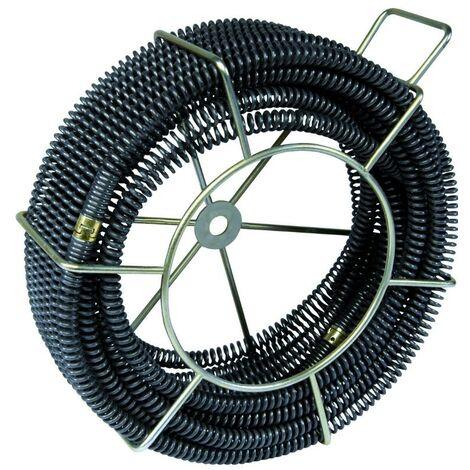 5 sections 22 mm / 4,5 mètres VIRAX + cage pour déboucheur VAL 96QC - 293142
