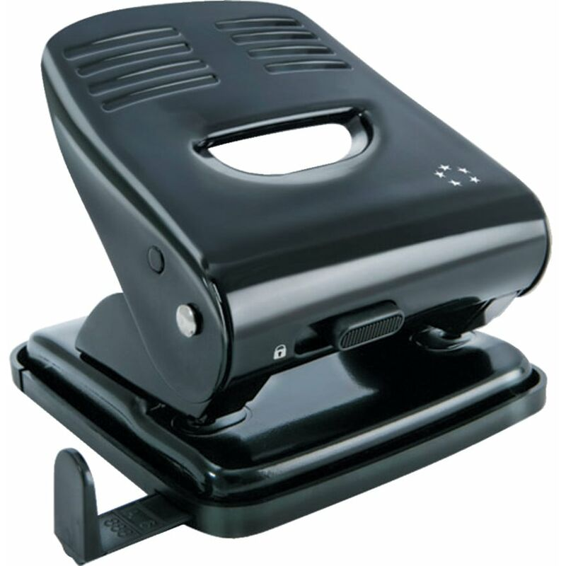 Image of Star 5 Star 2-Hole 30 Sheet Punch Metal Black - Five