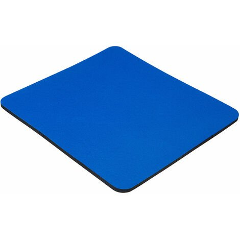 5 Star 559577 Office Mouse Mat with 6mm Rubber Sponge Backing W248xD220mm Blue