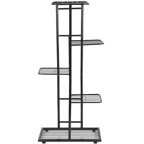 5-Tier estante de exhibicion Macetas Estante, Planta de soporte para macetas Escalera