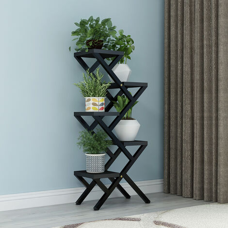5 Tier Flower Pot Holder Plant Stand Ornament Display Rack