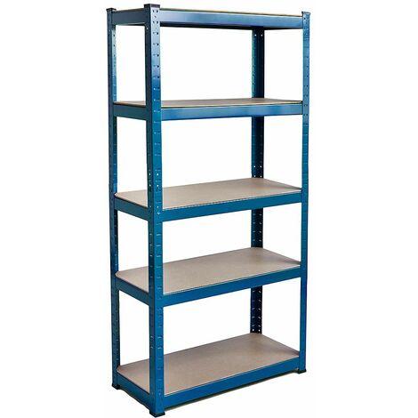 5 Tier Shelf, Blue