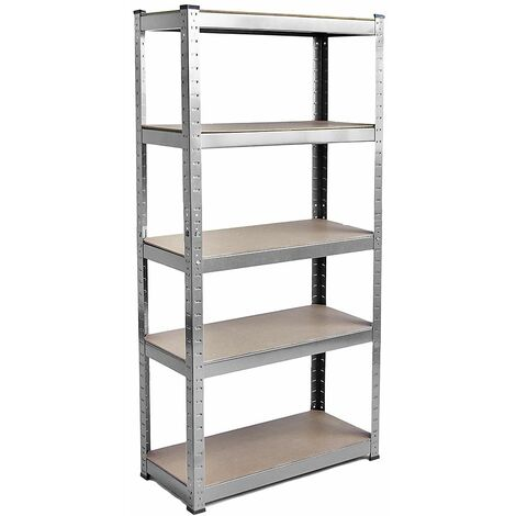 5 Tier Shelf, Galvanised