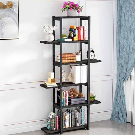 5 Tier Shelving Rack Bookcase Display Plant Stand Storage