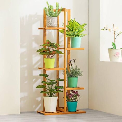 """main image of """"5 Tier Wooden Plant Stand Pot Holder Display Shelf"""""""