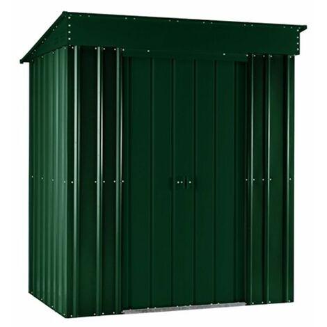 5 x 3 Premier EasyFix - Pent - Metal Shed - Heritage Green (1.48m x 0.93m)