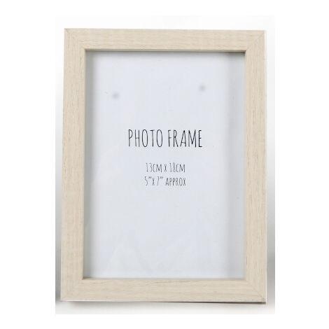 "5"" x 7"" Wooden Photo Frame"