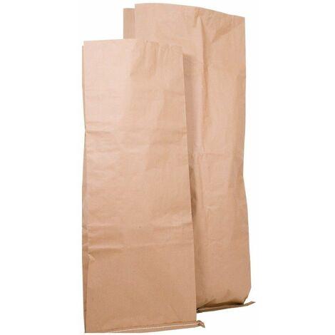 5 X (COLIS DE 50) Sac papier kraft grande contenance 50 x 120 x 10
